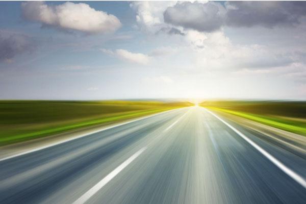 Road-grass-sky