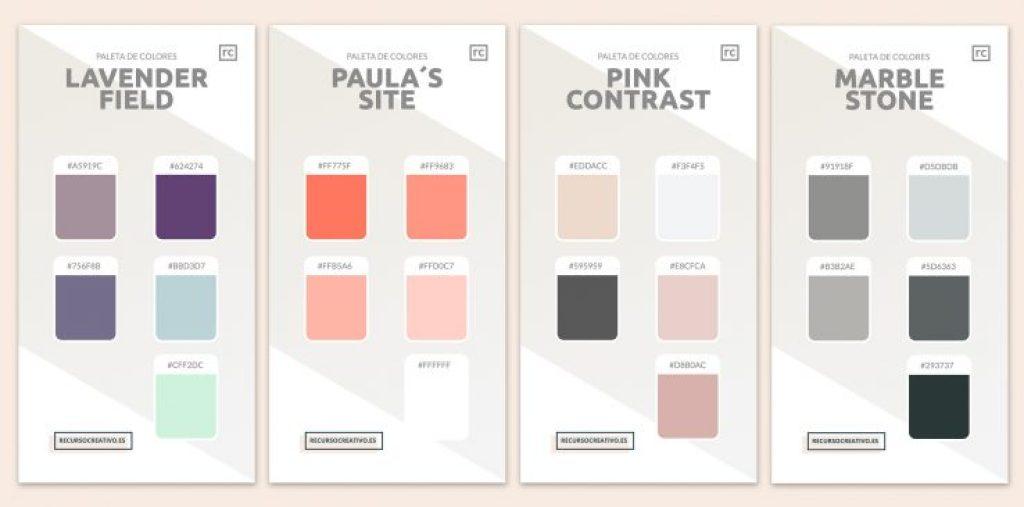 paleta de colores para diseñadores