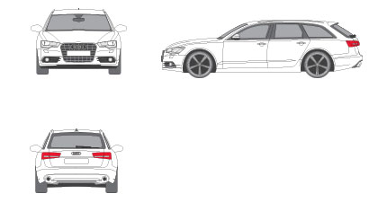 Audi A4 Avant 2.0 TDI S line edition 110 kW (150 CV) de