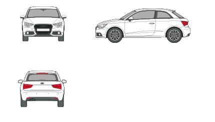 Audi A1 1.4 TFSI S Tronic Ambition 90 kW (122 CV) de