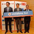 """Vodafone se """"adueña"""" de la línea 2 del Metro de Madrid por tres años"""