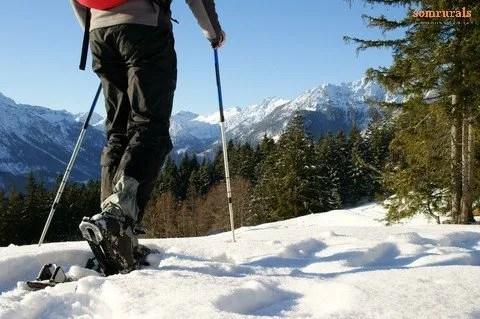 5 Rutas con raquetas de nieve