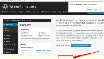 Descargando WordPress