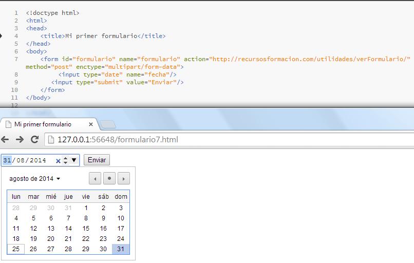 HTML5-date