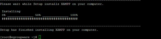 XAMPP_Finalizando la instalacion