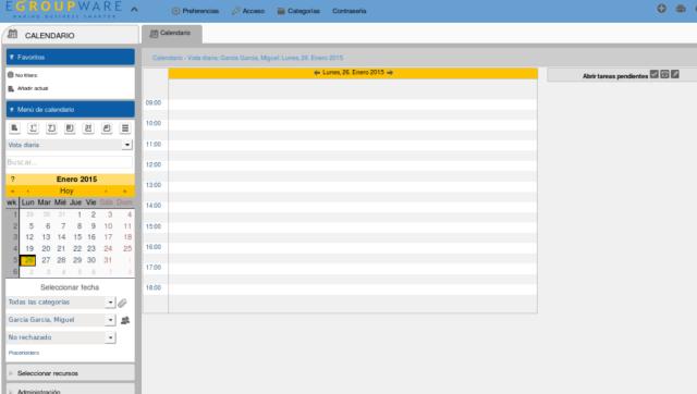 eGroupWare-calendario