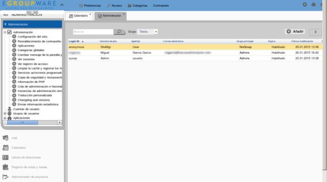 eGroupware-gestion administracion usuarios