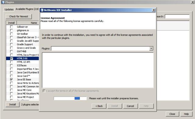 Netbeans-instalacion de plugins