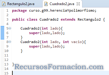 Eclipse. Java. Herencia