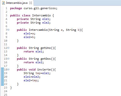 Java.Clases genericas