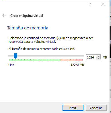 Instalar Android en PC - Memoria de la maquina virtual