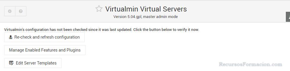 Virtualmin-Comprobacion