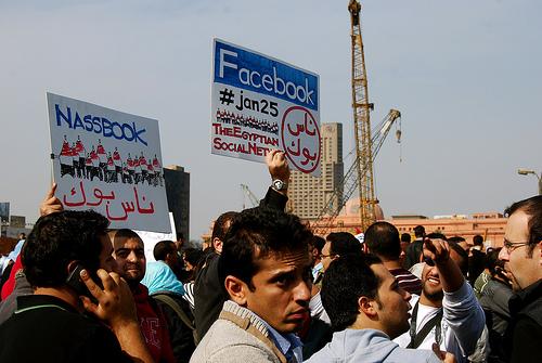 Primavera árabe en Egipto