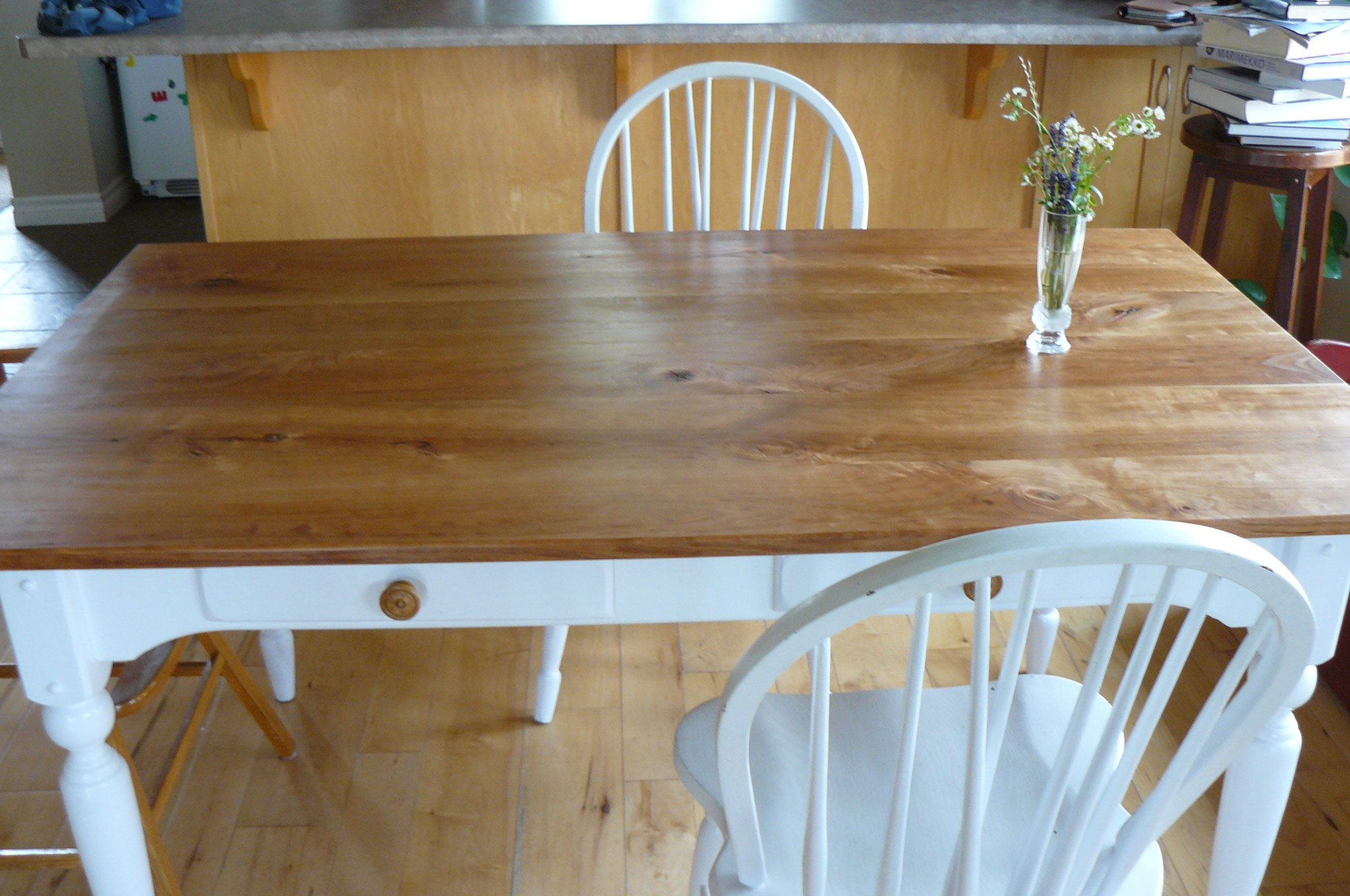 CherryUrbanwood Kitchen Table  Recycle Ann Arbor