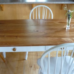 Kitchen Table Ikea Corner Cabinet Cherry Urbanwood Recycle Ann Arbor Made From