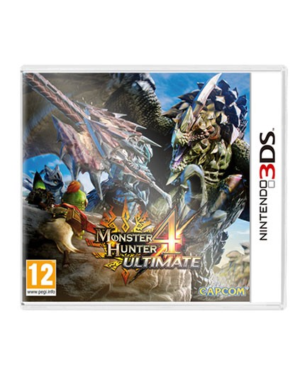 Juego Nintendo 3DS Monster Hunter 4 Ultimate  Recycle