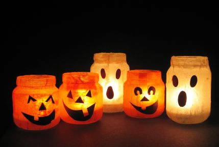 Halloween Uses For Baby Food Jars Recycled Crafts