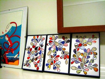 Turn Junk Mail Into Art – Recycled Crafts