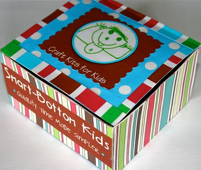 Turn Boring Packaging Into A Coordinated Display Recycled Crafts