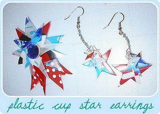 How To Make Festive Jewelry With A Recycled Plastic Cup Recycled