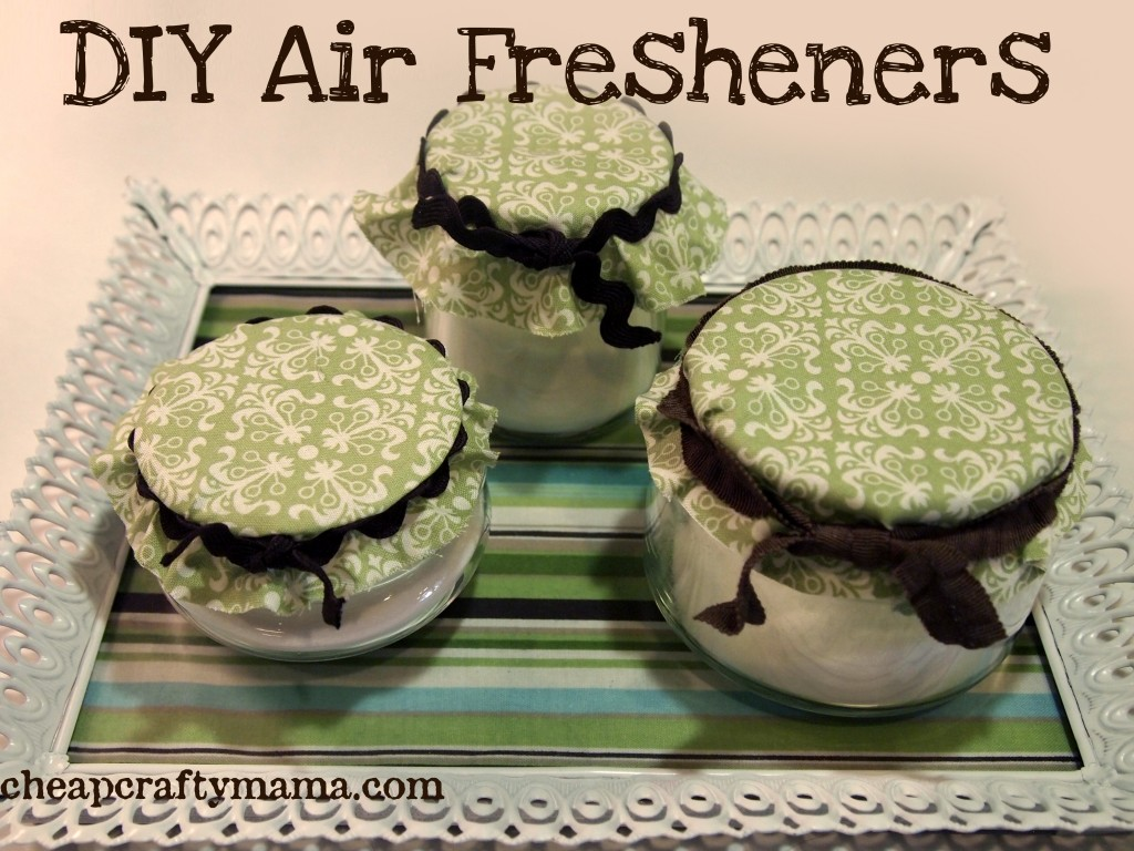 How To Make Recycled Jar Air Fresheners Recycled Crafts