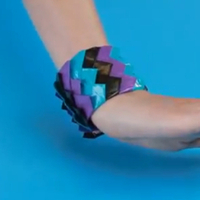 Duck Brand duct tape prom contest and bracelet how-to