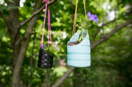 how to make a flower pot wine keg