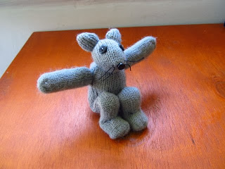 How to make a recycled glove stuffed animal