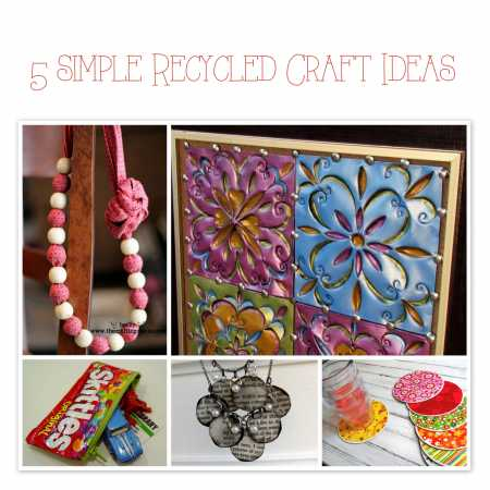 easy recycled craft ideas 5 simple recycled craft ideas recycled crafts 4378