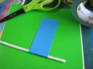 how to make duck tape banners