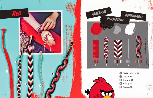 angry birds friendship bracelets