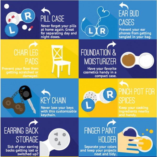 24 uses for contact lense cases