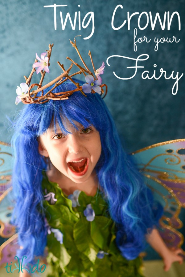 Flower Fairy Crown TEXT
