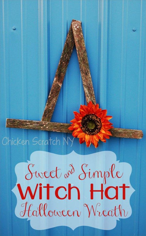 Witch-Hat-Halloween-Wreath