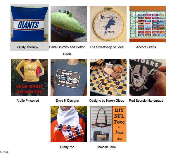 10 Football themed craft projects