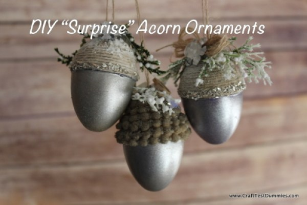 plastic egg acorn tutorial
