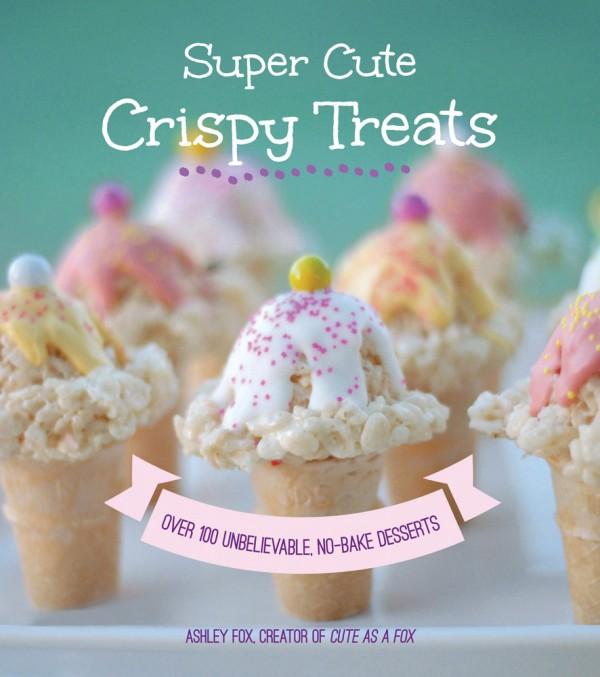 super cute crispy treats book