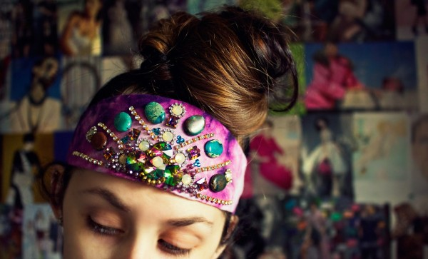 how to make a bling headband