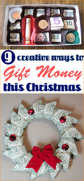 9 ways to give money as gifts- Recycled Valentine Candy ...