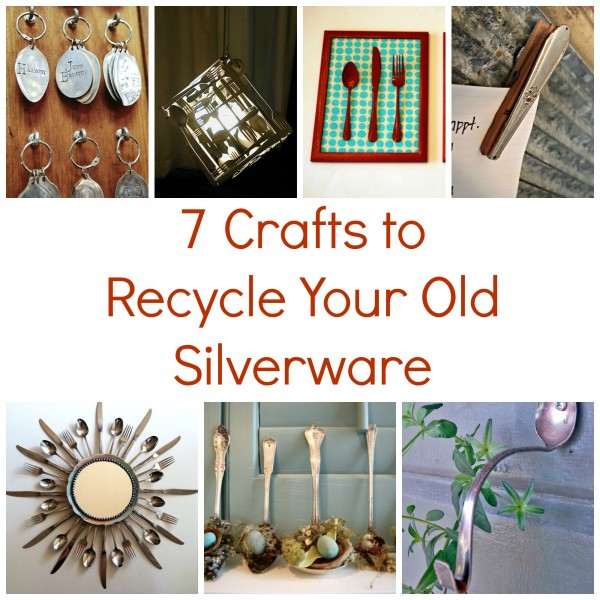 Crafts To Recycle Your Old Silverware Recycled Crafts