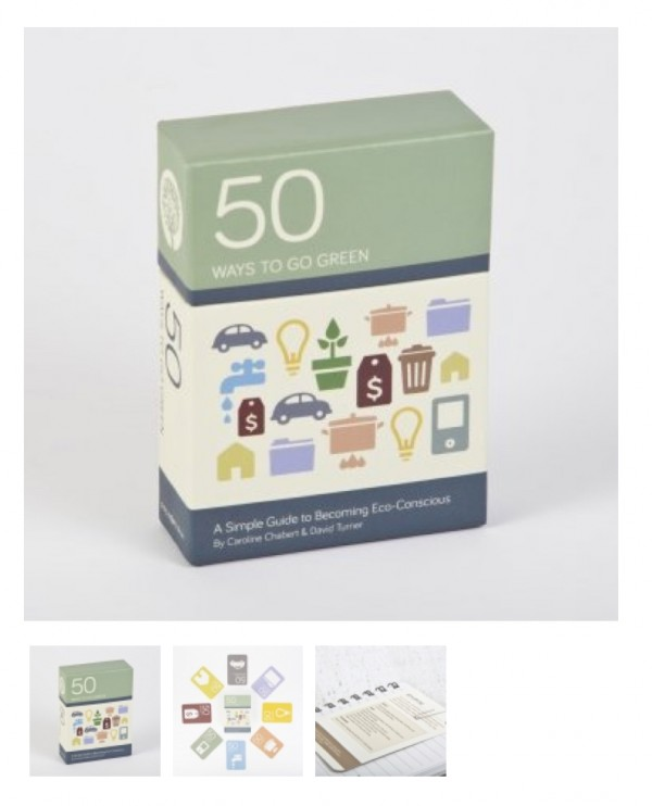 50 ways to go green