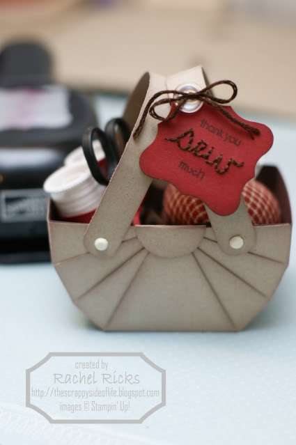 how to make a cute carstock basket