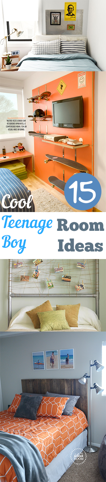 15 cool boy room ideas and elements recycled crafts - Cool boy room ideas ...
