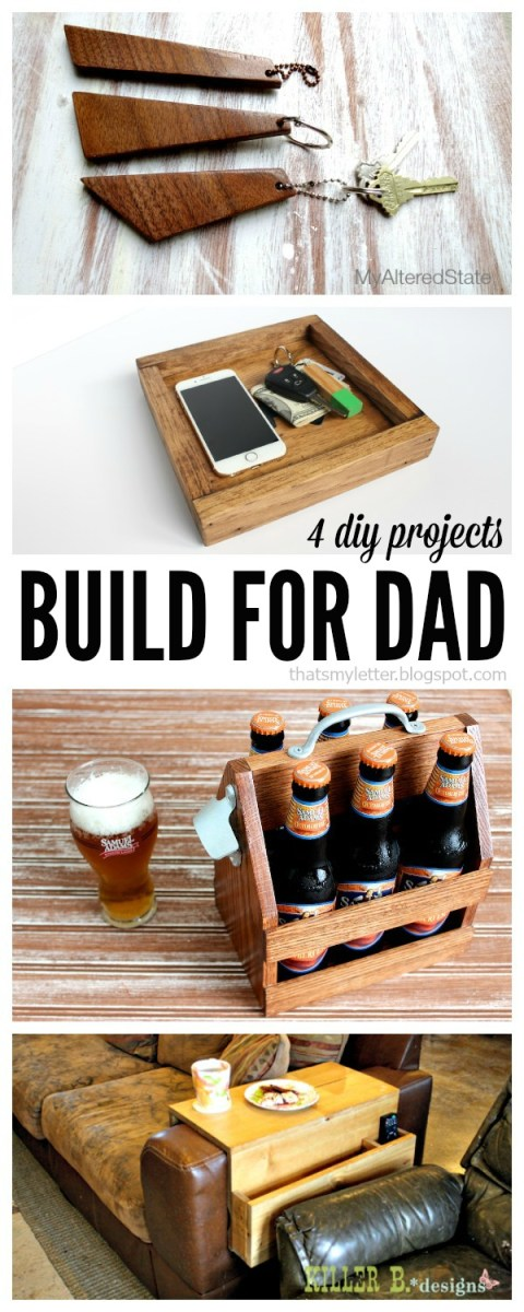 4 great DIY gifts for Dad – Recycled Crafts