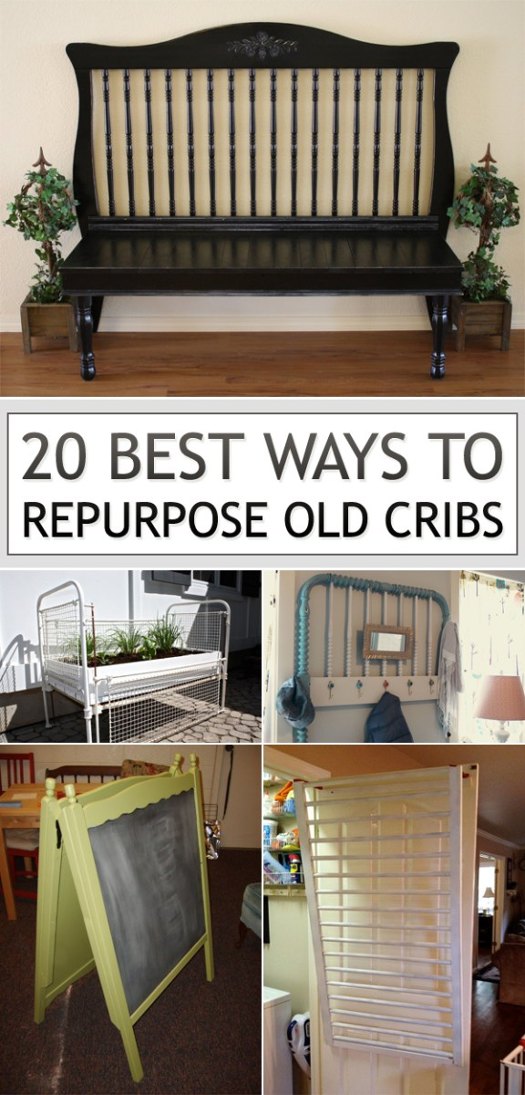 Crib Bench Repurposed