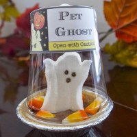 How to make a Pet Ghost Halloween treat with printables
