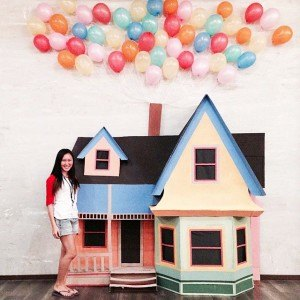 How To Make A Disney S Up Movie House Recycled Crafts
