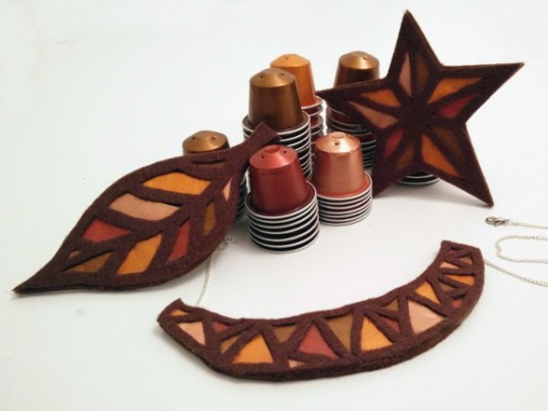 How to make recycled nespresso cup jewelry