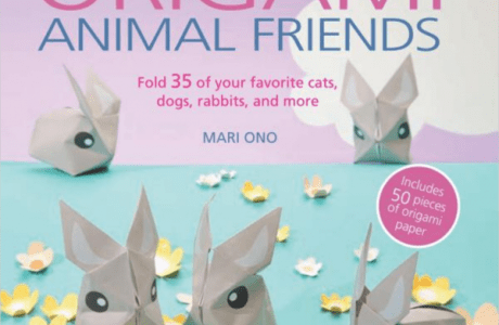 Giveaway- Origami Animal Friends: Fold 35 of your favorite dogs, cats, rabbits, and more