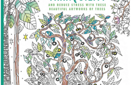 Giveaway- Color Yourself to Tranquility: And reduce stress with these beautiful artworks of trees